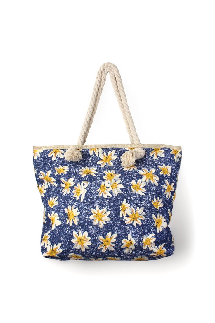 Sunflower Aztec Tote Bag