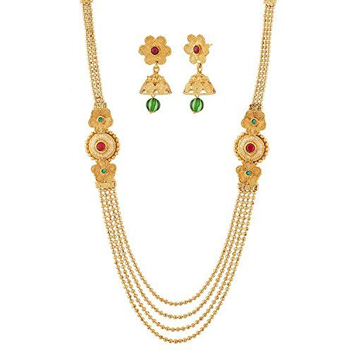 Indian Bollywood Red & Green Stone Gold Plated Multi-Stra... https://www.amazon.com/dp/B06Y627J5N/ref=cm_sw_r_pi_dp_x_E4j7yb19CPCAH