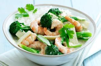 Thai green prawn curry with broccoli recipe - goodtoknow