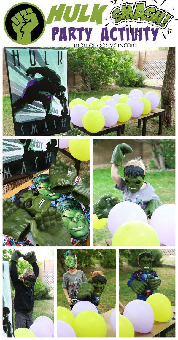 Hulk Smash Party Activity                                                                                                                                                                                 More