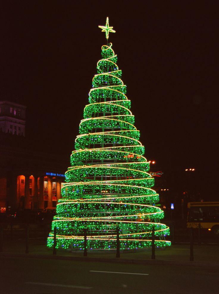 Green Christmas Light