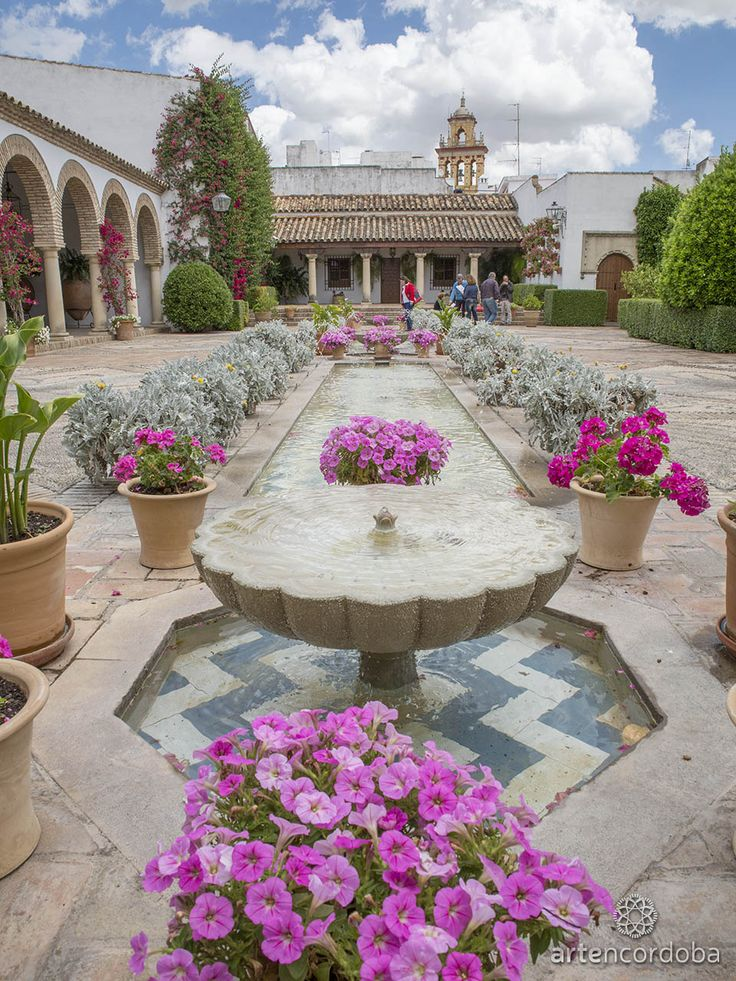 Patio de las Columnas del Palacio de Viana, Córdoba