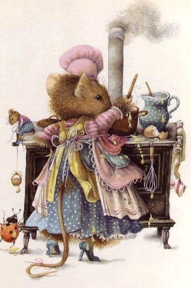 Marjolein Bastin... omg Vera the mouse!! :)