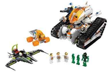 Lego Mars Mission - MT-61 Crystal Reaper The power to complete any mission! http://www.comparestoreprices.co.uk/creative-toys/lego-mars-mission--mt-61-crystal-reaper.asp