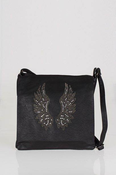 MARKA TASKE - Bag with decoration piece with faux simili studs.