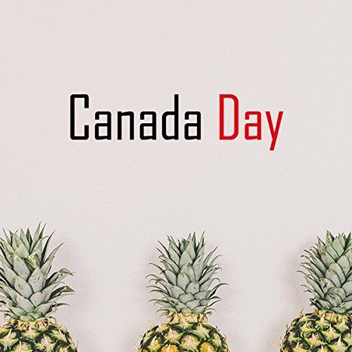 Celebrate Canada Day Blessing FestivalÂHolidayÂGalaÂCelebrationÂWords Removable Wall Sticker Art Decals Mural DIY Wallpaper for Room Decal