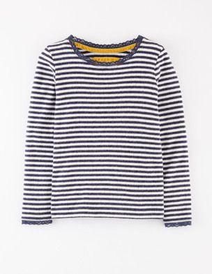 Pointelle Marl T-shirt
