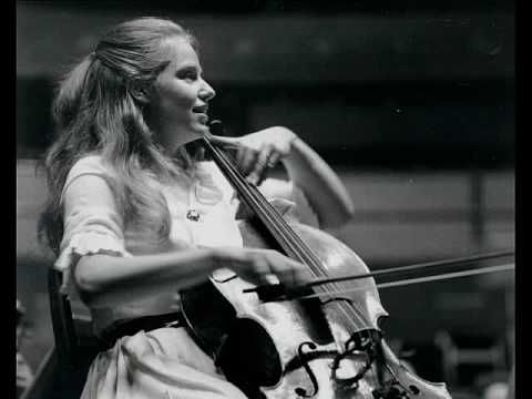 JS Bach / Jacqueline du Pré, 1962: Adagio, from the Toccata in C, BWV 564 - Angel - YouTube