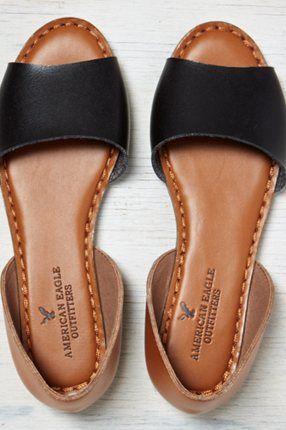AEO Colorblocked Slingback Sandal, Tan | American Eagle Outfitters