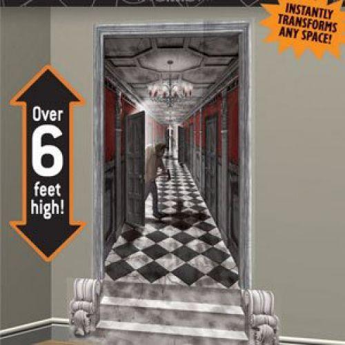 Amscan BB673031 Gothic Mansion Long Hallway Wall Decoration #Amscan