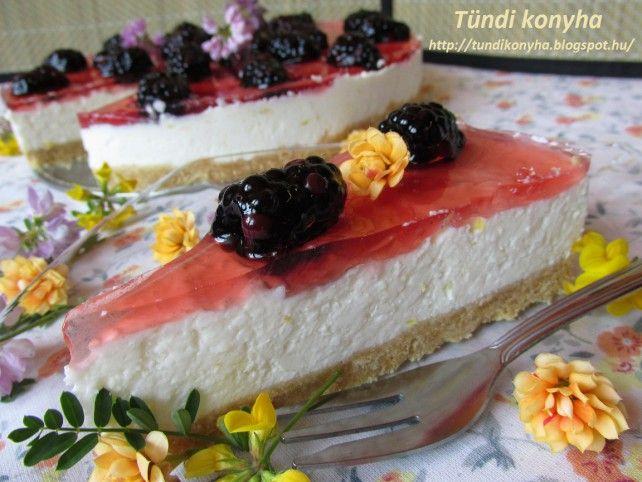 Sütés nélküli citromos-túrós torta Recept képpel - Mindmegette.hu - Receptek