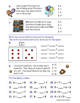 grade 2 number sense test pdf