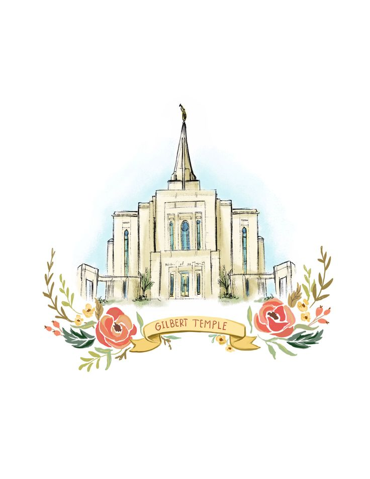 Gilbert Arizona Temple, LDS, Mormon, Wedding gift, Christmas gift, latter day saint, FHE, wall art decoration, young womans, relief society