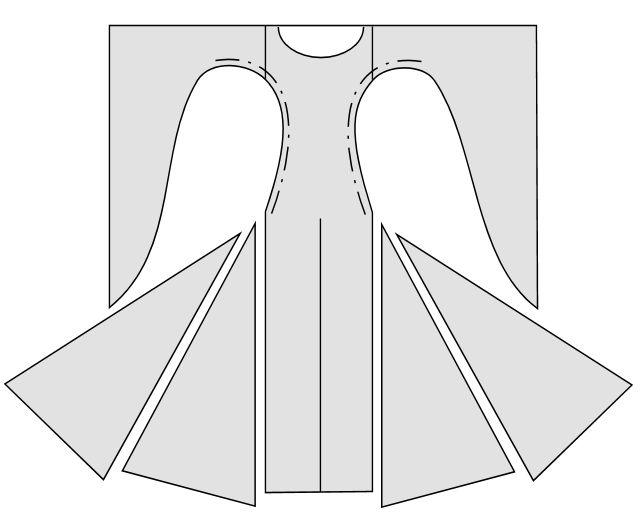Bliaut pattern medieval costuming inspiration for How to make a wedding dress pattern