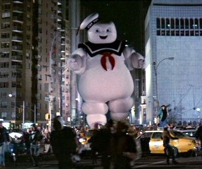 Along with the Ghostbusters and Ghostbusters II logos, the image of the Stay Puft Marshmallow Man has become one of the most recognizable emblems of the franchise. Description from soxtalk.com. I searched for this on bing.com/images