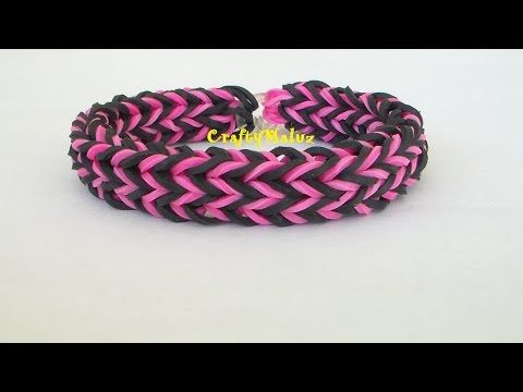 CRISS CROSS QUADFISH Monster Tail-How To//Pulsera de Gomitas:Criss Cross Quadfish Monster Tail. - YouTube