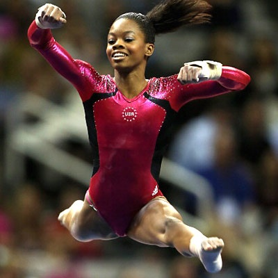"Gabby Douglas  What does she eat (as well as other Olympians) to enhance her amazing performance.  She what makes up her balanced meals and her favorite dinner.  What keeps this ""Flying Squirrel"" such a fabulous, fit and flying athlete."
