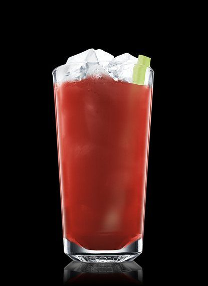 Bloody Mary - Stir all ingredients in a mixing glass. Pour into a chilled highball glass filled with ice cubes. Garnish with celery. 2 Parts ABSOLUT VODKA, 2 Parts Tomato Juice, � Part Worcestershire Sauce, � Part Lemon Juice, 2 Dashes Hot Sauce, 1 Teaspoon Horseradish, 1 Pinch Ground black pepper, 1 Stick Celery
