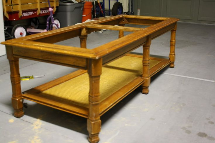 Redo Coffee Table With Glass Inserts