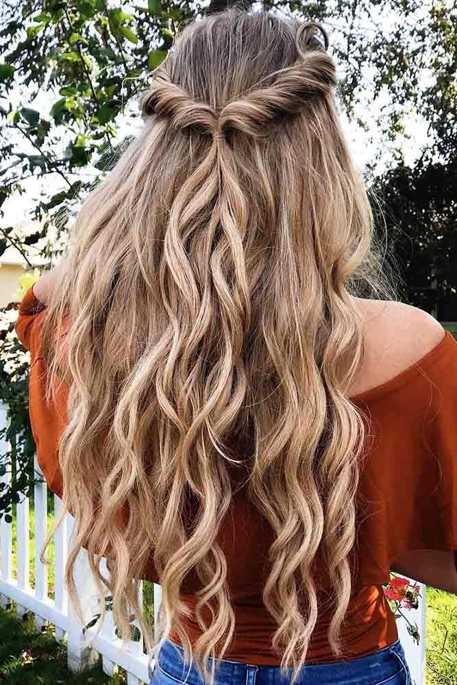 48 Fresh Spring Hairstyles To Try Now Lovehairstyles Com Long Hair Styles Hair Styles Spring Hairstyles