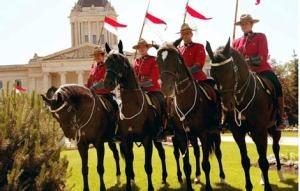 Conheça a guarda montada do Canadá!