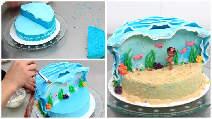 Delight your children with a cake-tribute to their favorite Disney maritime adventure