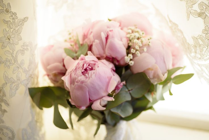 Such a romantic colour for the peonies