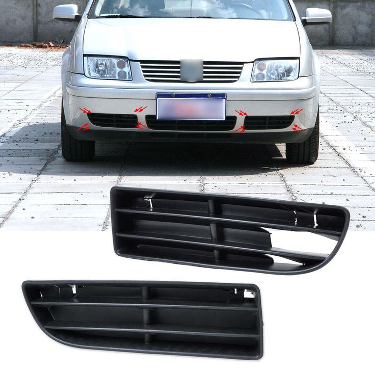 13.42$  Buy now - http://aliynz.shopchina.info/go.php?t=32794805004 - DWCX 1J5853665B, 1J5853666C Front Lower Grille Bumper Vent for Volkswagen VW Jetta Bora MK4 1999 2000 2001 2002 2003 2004  #SHOPPING