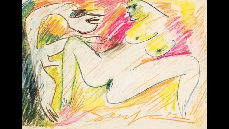Ivan Serpa 伊万.塞爾帕 (1923-1973) Art Informel Op Art Neo-Concretism Brazilian