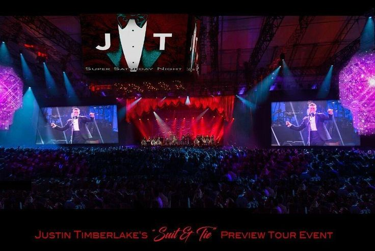 """Learn how to plan large scale events like this Justin Timberlake """"Suit & Tie"""" Tour Preview Event produced and designed by @CL22Productions at Cynthia Lopell's @CaterSource educational session in New Orleans! Visit our link in bio to register for the March 12th event."""