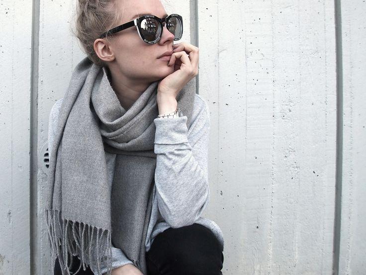 Grey, grey, grey / sunglasses