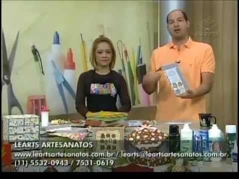Ateliê na Tv - Tv Gazeta - 27-07-12 - Elizandra Sobral - YouTube