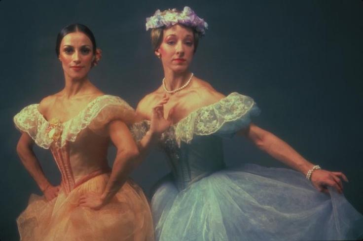 Denise Jackson and Beatriz Rodriguez in Robert Joffrey's Pas des Deeses