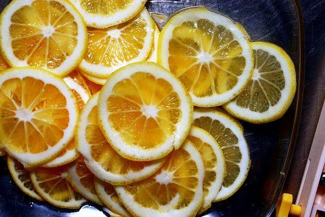 paper-thin meyer slices for a shaker lemon pie by smitten kitchen, http://smittenkitchen.com/2008/04/shaker-lemon-pie/#