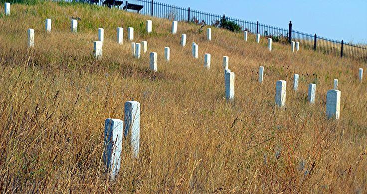 Custer's battlefield Mt.
