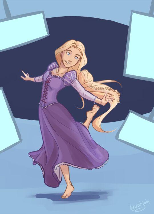 Cress/Rapunzel by Taratjah                                                                                                                                                                                 More