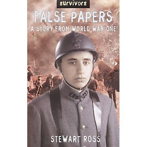 Set in France in 1914, fourteen-year-old Pierre Clouet uses false papers to sign up and fight for his country. Adapted from an original manuscript by Andor Guttmann. See if it is available: http://www.library.cbhs.school.nz/oliver/libraryHome.do