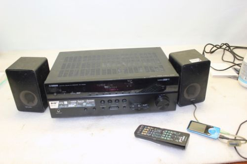 Yamaha rx-v500d #dolby 5.1 channel #hdaudio video dab+ radio av #receiver + rem,  View more on the LINK: http://www.zeppy.io/product/gb/2/401209643982/