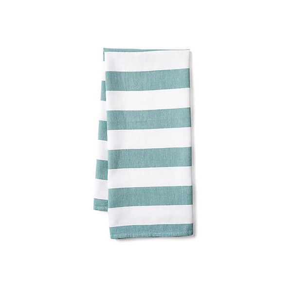 Deck Kitchen Towel Teal Tea towels & Dishtowels (21 AUD) ❤ liked on Polyvore featuring home, kitchen & dining, kitchen linens and teal kitchen towels