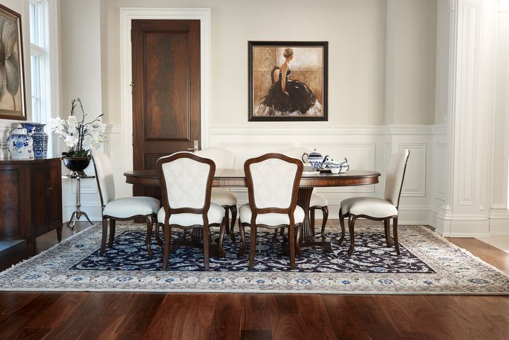 Calais Dining Table, Bedford Dining Chairs | Bombay Canada