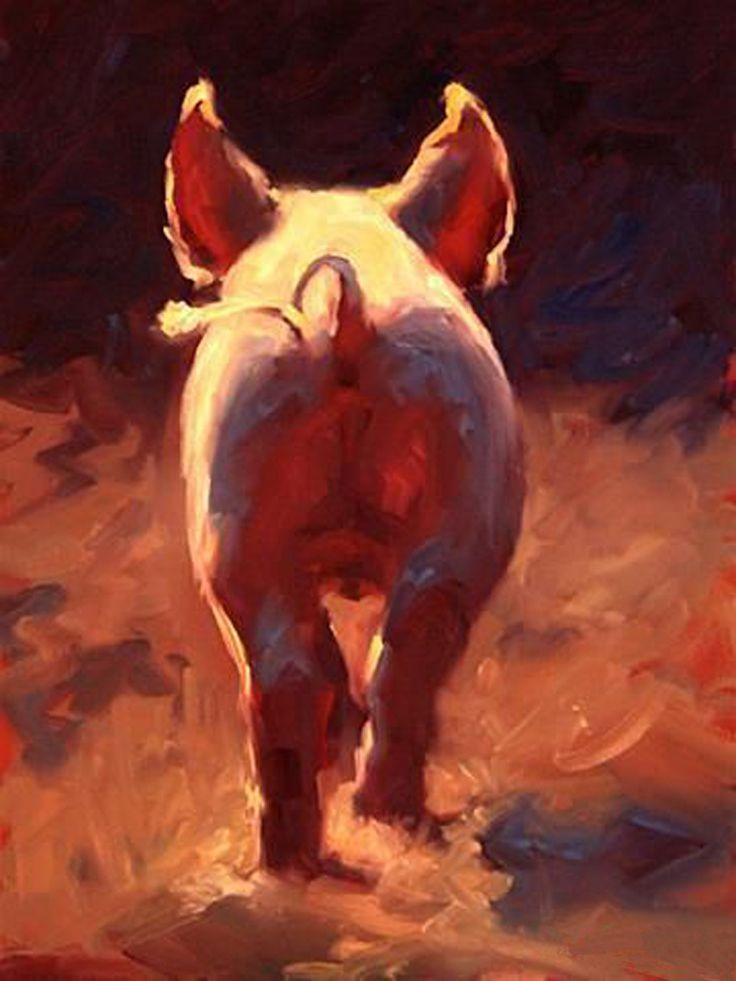 Compare Prices on Pig Painting- Online Shopping/Buy Low Price Pig ...