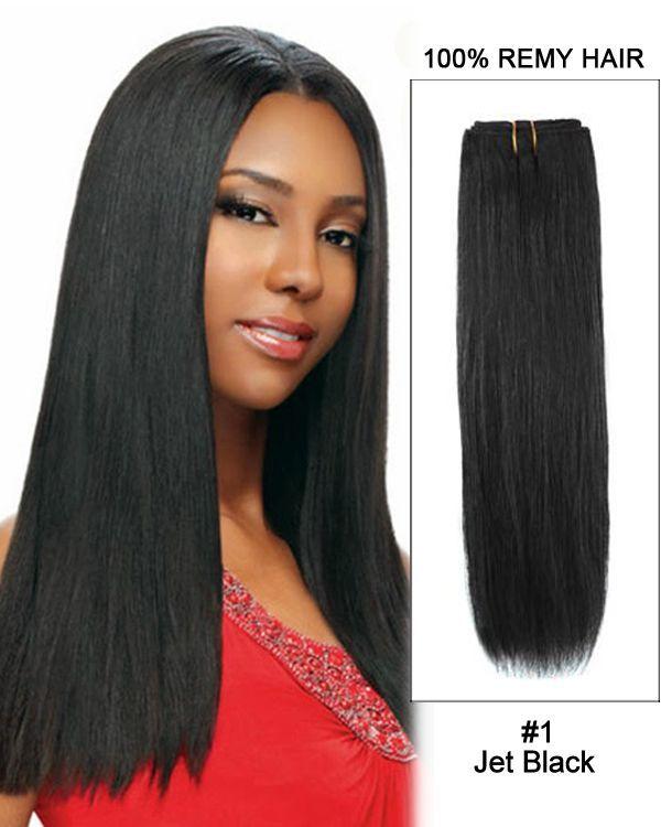 14 1 Jet Black Straight Weave 100 Remy Hair Weft Hair Extensions Black Ext Brazilian Straight Hair Weave Loose Waves Hair Weave Straight Weave Hairstyles