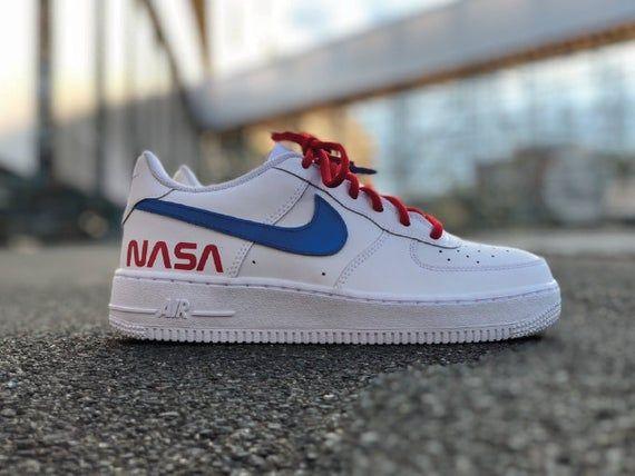 Nike AF1 NASA Custom By Fawl customs