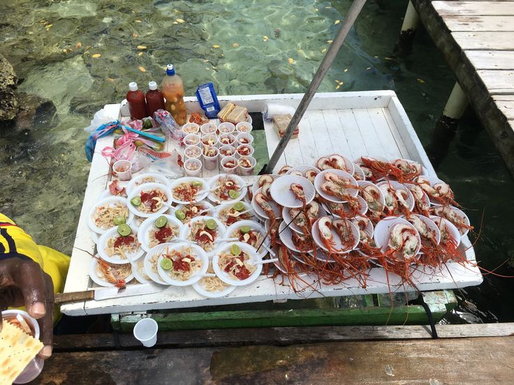 Mariscos frescos