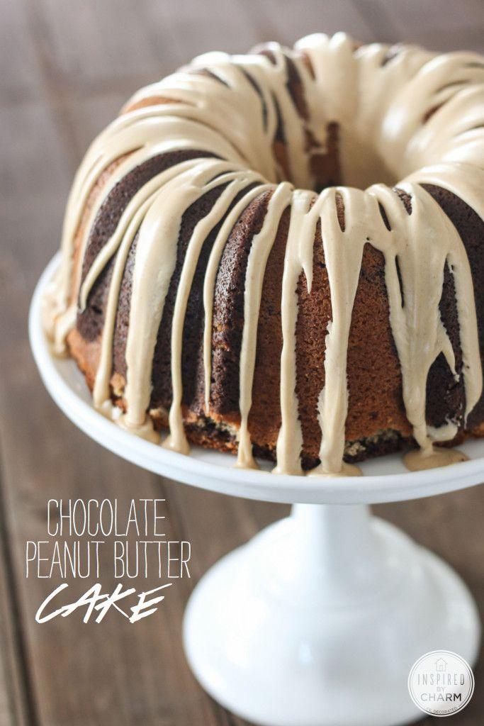 Chocolate - Peanut Butter Cake