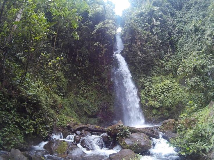 Air Terjun Talang Ogan Pemandangan Indah di Lampung - Lampung