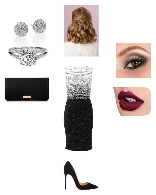 """Maria"" by dreaming-of-a-better-tomorrow ❤ liked on Polyvore featuring Oscar de la Renta, Christian Louboutin, Avon, Kate Spade and Henri Bendel"