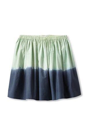 62% OFF Moon Et Miel Girl's Bicolor Skirt (Grey/Blue)