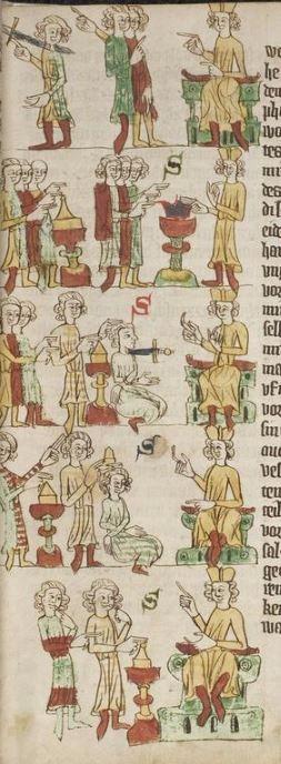Eike <von Repgow>   Heidelberger Sachsenspiegel — Ostmitteldeutschland, Anfang 14. Jh. Cod. Pal. germ. 164 Folio 29r