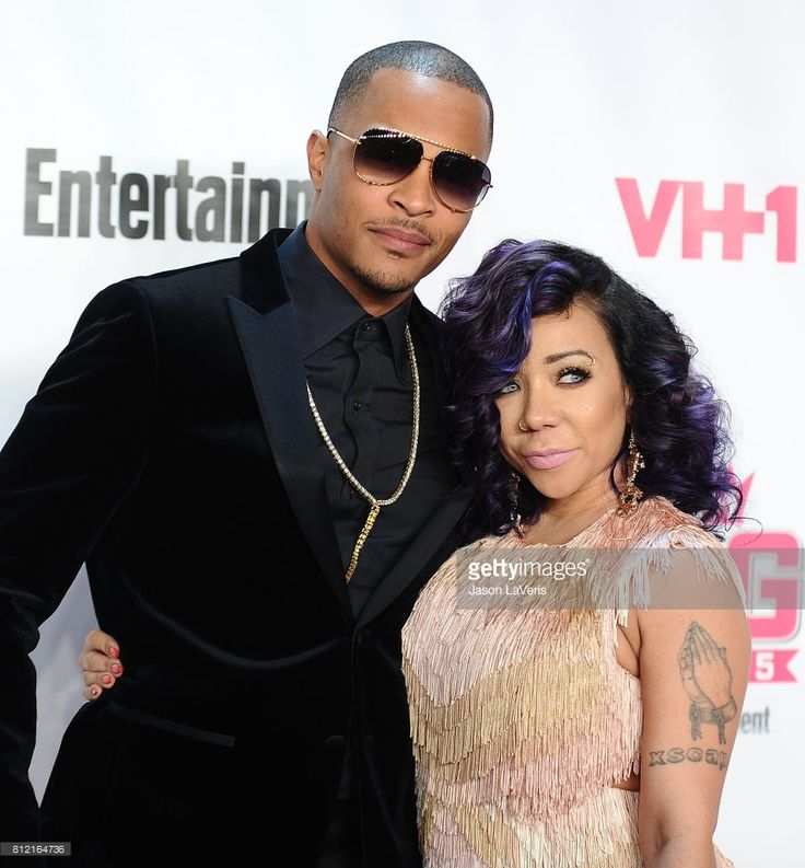 Rapper T.I. and Tameka 'Tiny' Cottle-Harris attend the VH1 Big In 2015 with Entertainment Weekly Awards at Pacific Design Center on November 15, 2015 in West Hollywood, California.